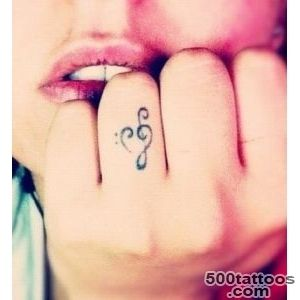 bass clef tattoo  Tumblr_38