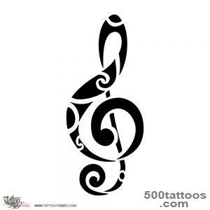 Music Tattoos on Pinterest  Music Tattoos, Treble Clef and Music _47