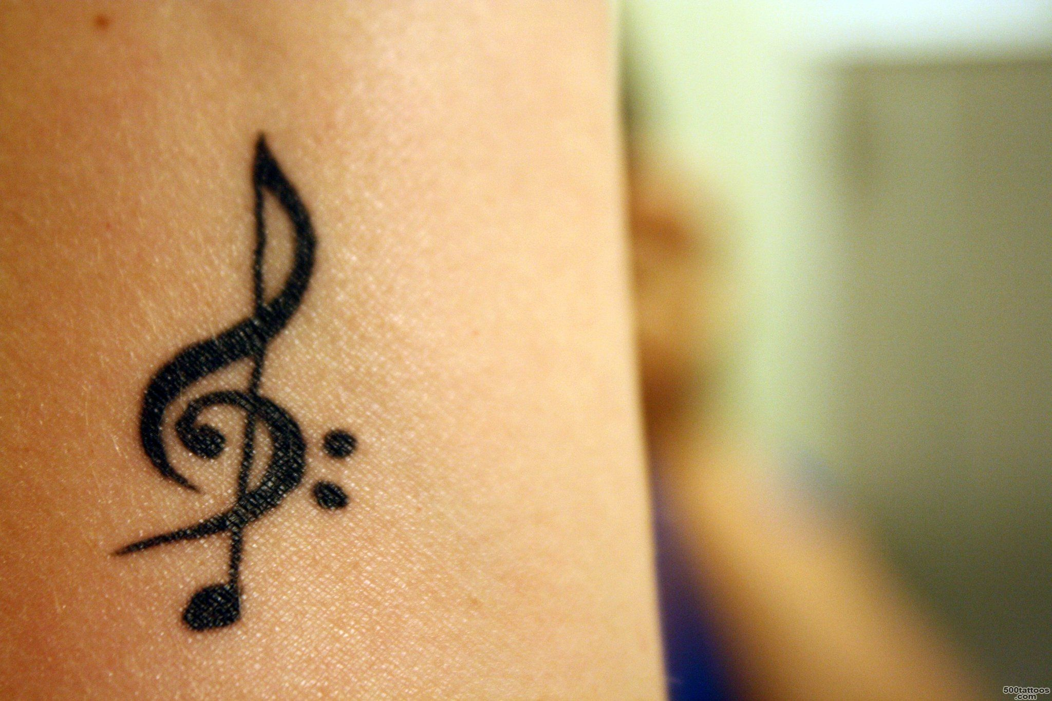 Top Clef Tattoo 2 Images for Pinterest Tattoos_30