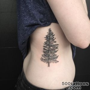 30+ Simple and Easy Pine Tree Tattoo Designs for Everyone_49