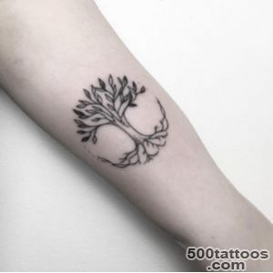40+ Achingly Beautiful Tree Tattoos   TattooBlend_3