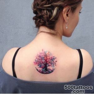 55 Magnificent Tree Tattoo Designs and Ideas   TattooBlend_18