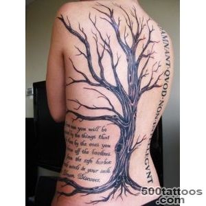 60 Awesome Tree Tattoo Designs  Art and Design_12