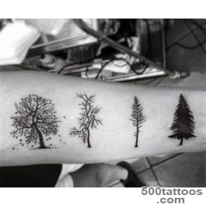70 Pine Tree Tattoo Ideas For Men   Wood In The Wilderness_30