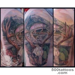 Deer and trout skull by JakubNadrowski on DeviantArt_43