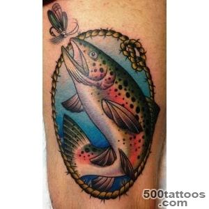 trout tattoo designs ideas meanings images. Black Bedroom Furniture Sets. Home Design Ideas