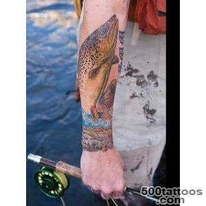Pin Top Trout Outline Brook Tattoo Tattoos In Lists For Pinterest _47