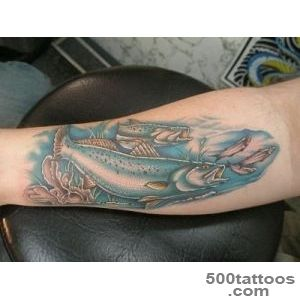 Trout Tattoo Picture_11