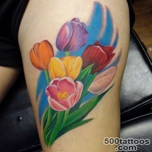 Cool Tulip Tattoo Designs  Best Tattoos 2016, Ideas and designs _11