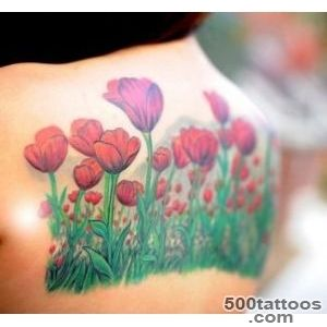 Subtle Tulip Tattoo Designs  Tattoo Ideas Gallery amp Designs 2016 _19