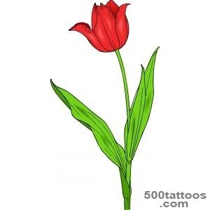 Tulip Design Tattoo   Tattoes Idea 2015  2016_42
