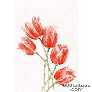 Tulip Tattoos, Designs And Ideas  Page 11_40