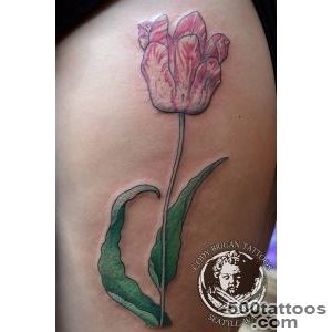 Tulip Tattoos, Designs And Ideas  Page 16_26