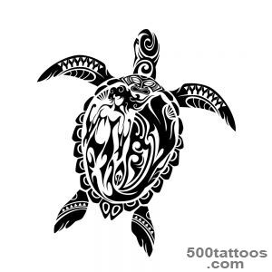 Turtle tattoo design, idea, image