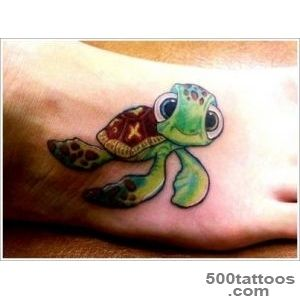 35+ Turtle Tattoo Designs that portray beauty and tranquility_1