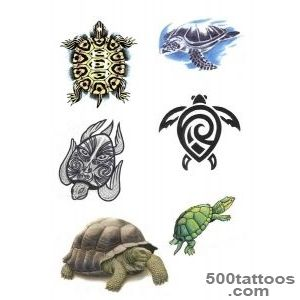 50+ Awesome Tribal Turtle Tattoos Designs_33