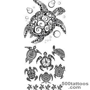 Tribal Turtle Tattoos   Designs and Ideas_43