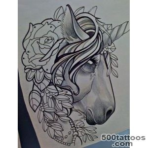 Unicorn tattoo @Ashley Walters Gross think we should get matching _16