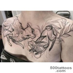 Tattoos like sketches   a new unusual tattoo style_44