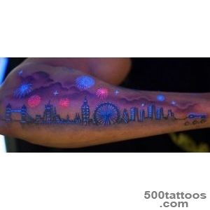 17+ Awesome Glow In The Dark Tattoos Visible Under Black Light _1