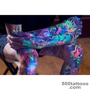 30+ Wonderful UV Tattoos Ideas_10