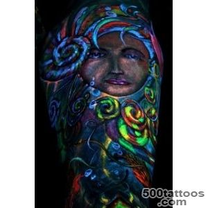 30+ Wonderful UV Tattoos Ideas_35