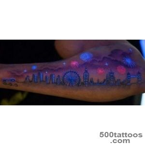 UV or blacklight tattoos   Tattoo Budapest_49