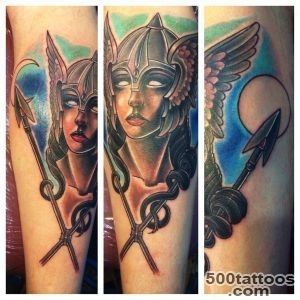 35 Valkyrie Tattoos   Meanings, Photos, Designs for men and women_19
