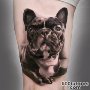 french bull dog tattoo_35