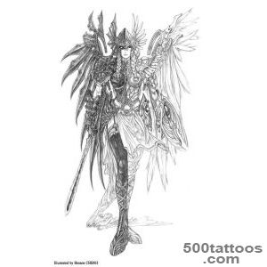 Pin Max Payne Tattoo Norse Valkyrie Viking Tattoos Wings on Pinterest_24
