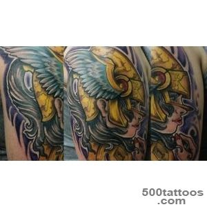 Stained Inc Tattoos amp Piercing » Full color Valkyrie Tattoo_32