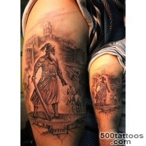25 Amazing Warrior Tattoos_16