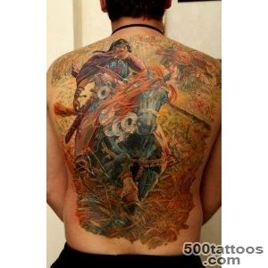 30 Fighting Warrior Tattoos  Art and Design_31
