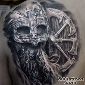 100+ Warrior Tattoo Designs to Get Motivated_3