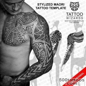Stylized Maori Warrior Tattoo Tattoo Wizards_47