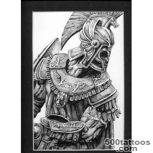 Warrior Viking Tattoo Sketch   Tattoes Idea 2015  2016_44