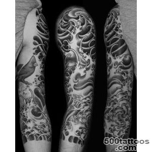 hd tattooscom Japanese water tattoo  Beautiful Tattoo design Ideas_29