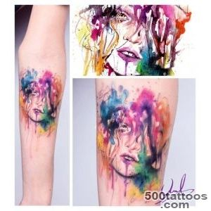 14 incredible examples of watercolor tattoo art  Creative Bloq_24
