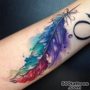 Get Yourself Inked With Exciting Watercolor Tattoo_7