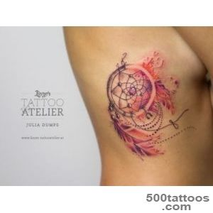 Watercolor amp Aquarelltattoos von Julia Dumps   Linzer Tattooatelier_36