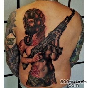 30+ Weapon Tattoos designs_3