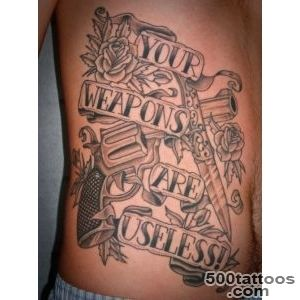 64+ Weapons Tattoos Ideas_10