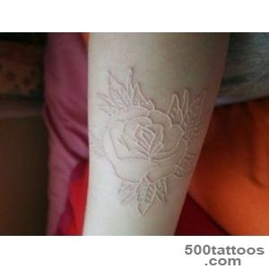 White Ink Tattoos for Men   Ideas and Designs for Guys_19