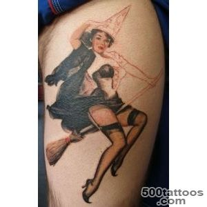 59+ Incredible Witch Tattoos_44