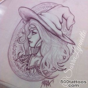 1000+ ideas about Witch Tattoo on Pinterest  Tattoos, Halloween _1