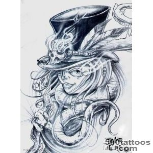 Pin Witch Tattoo I Want Something Like This But With A Black Cat _24
