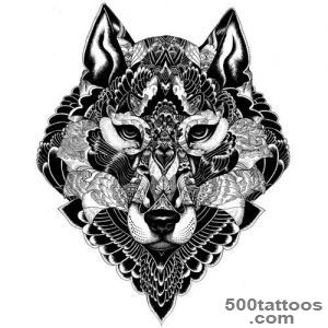 15 Best Wolf Tattoo Designs With Meanings  Styles At Life_50