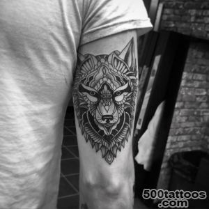 40 Awesome Wolf Tattoo Designs_11