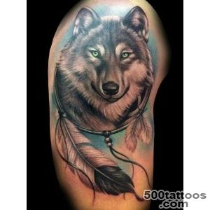 55 Wolf Tattoo Designs  Art and Design_2
