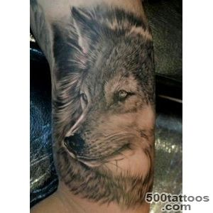 55 Wolf Tattoo Designs  Art and Design_9